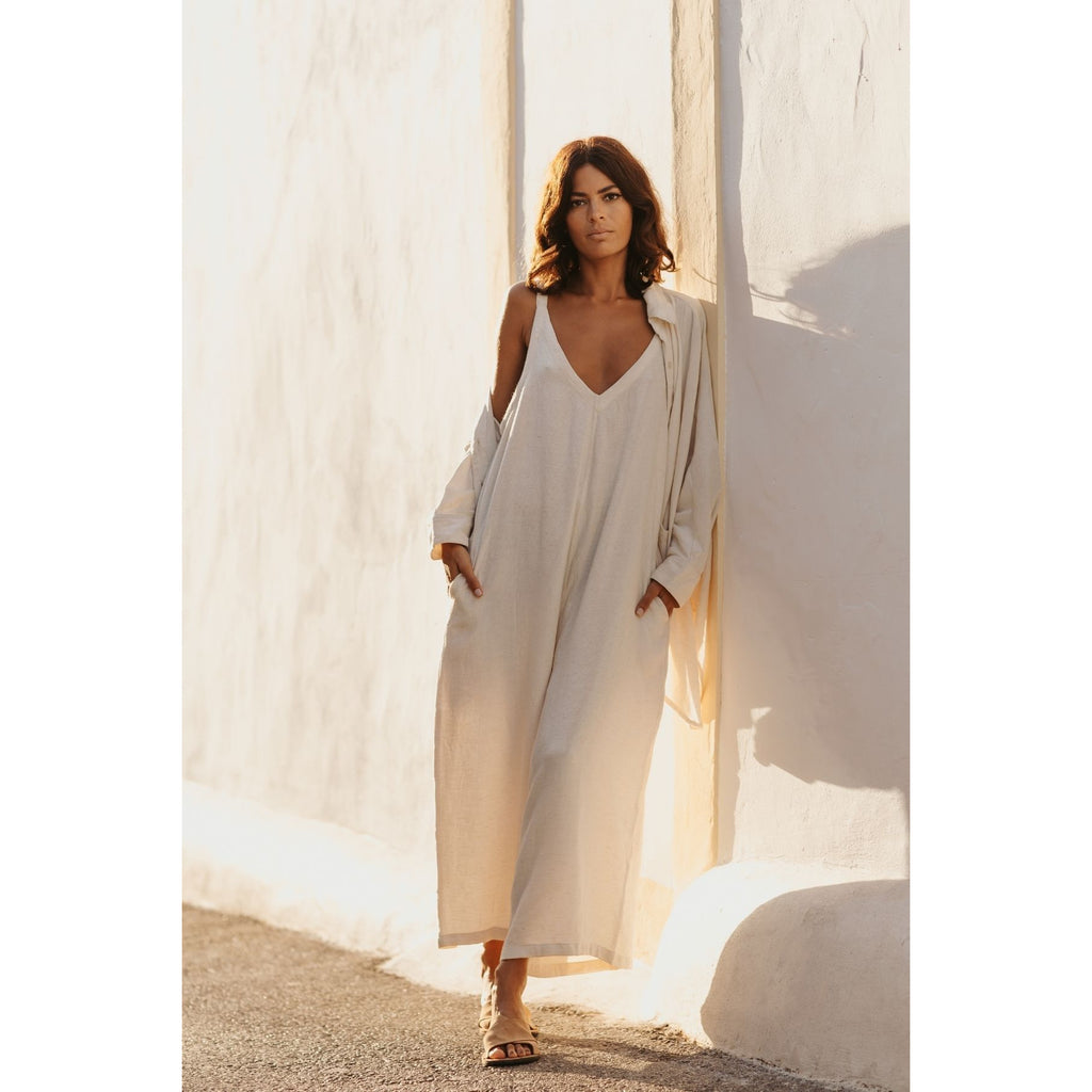 Kundalini Playsuit White Sand Edition - Sage Moon