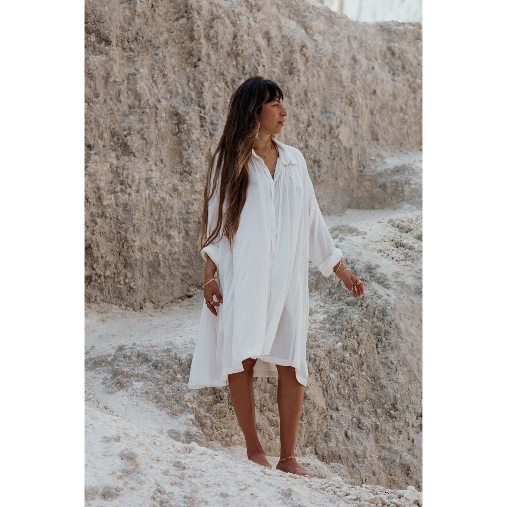 Kundalini Gown-Short Edition - Sage Moon