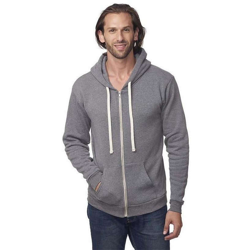 You Had Me at Sat Nam Unisex Grey Zip Up Hoodie - Sage Moon