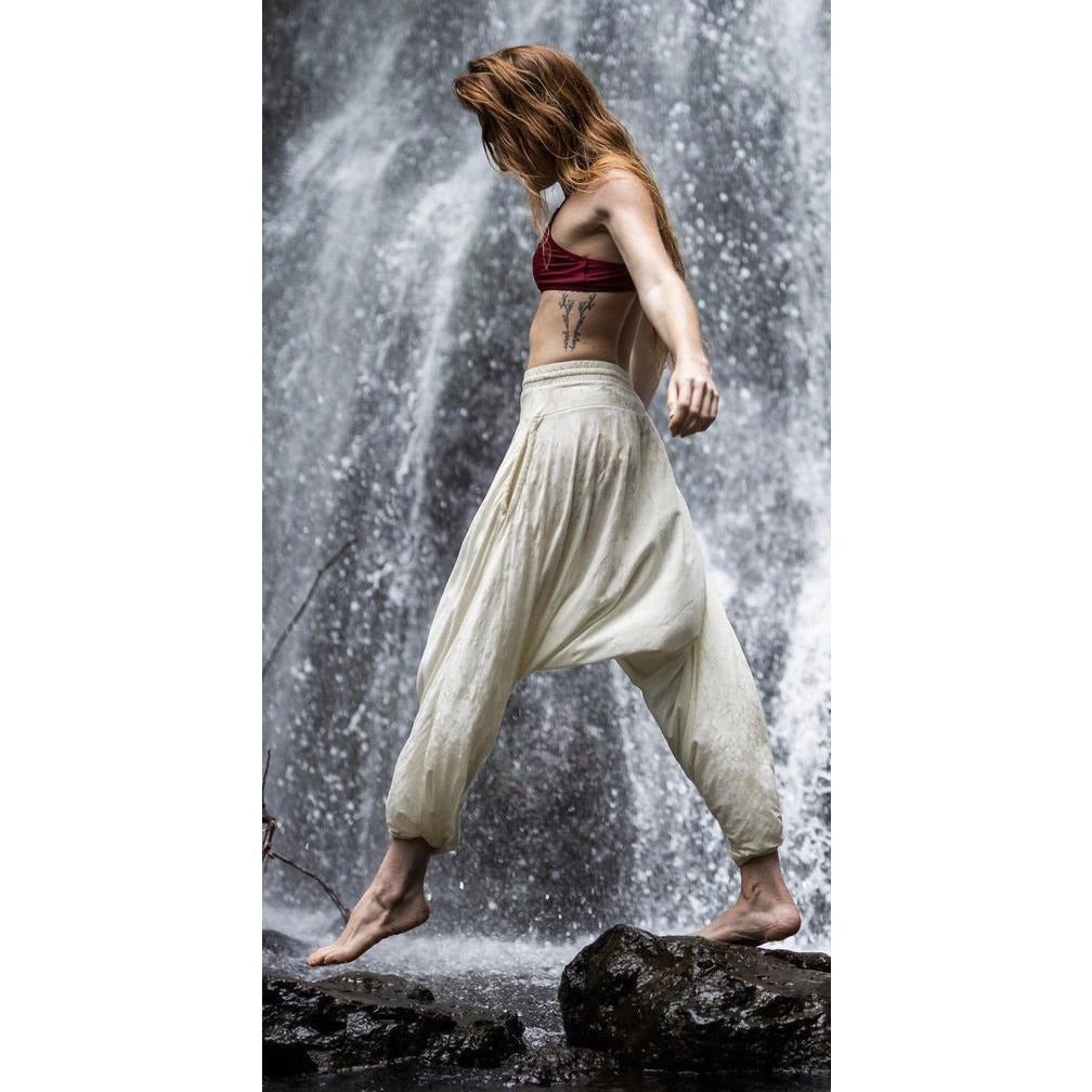 Lightweight Harem Pants - Sage Moon