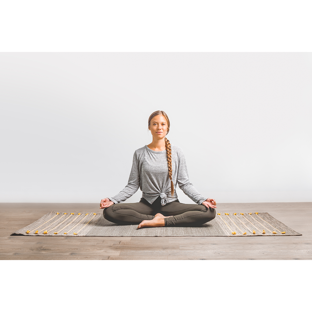Ayurvedic Yoga and Meditation Mat - Sage Moon