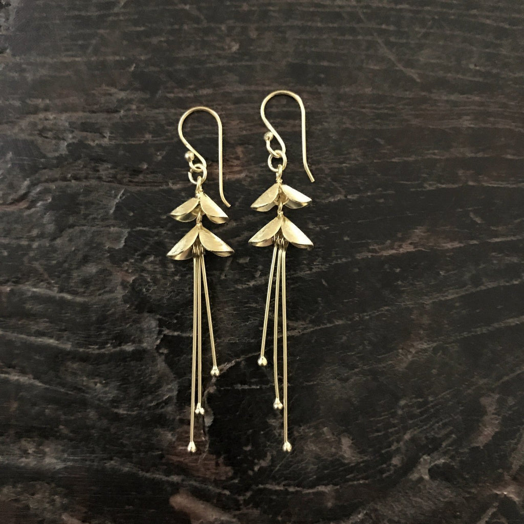 Flow of Grace Earrings Jewelry- Sage Moon