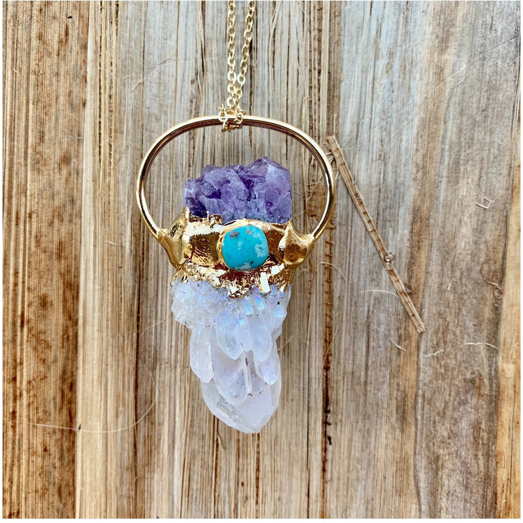 Spiritual Activation Necklace - Sage Moon