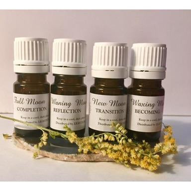 Set of 4 Moon Blends - Sage Moon