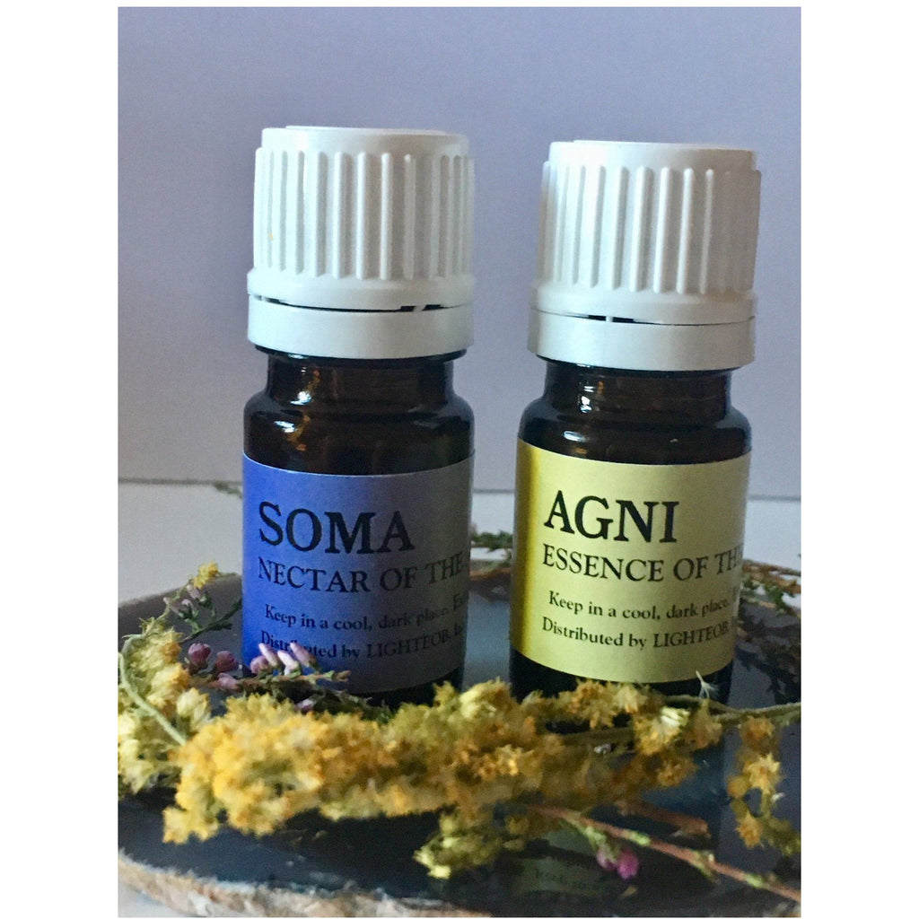 Sun & Moon Essential Oil Blends Set - Sage Moon
