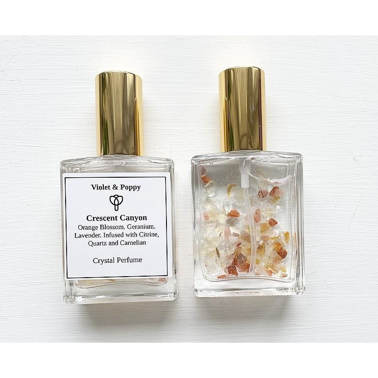 Crescent Canyon Crystal Perfume - Sage Moon