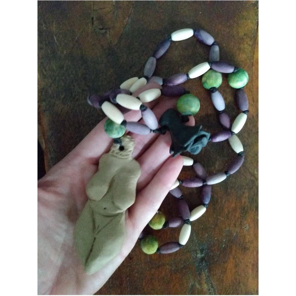 Mother Goddess Rosary - Sage Moon