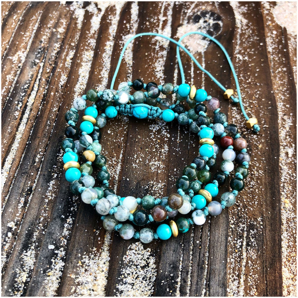 Self-Love Adjustable Mala - Sage Moon