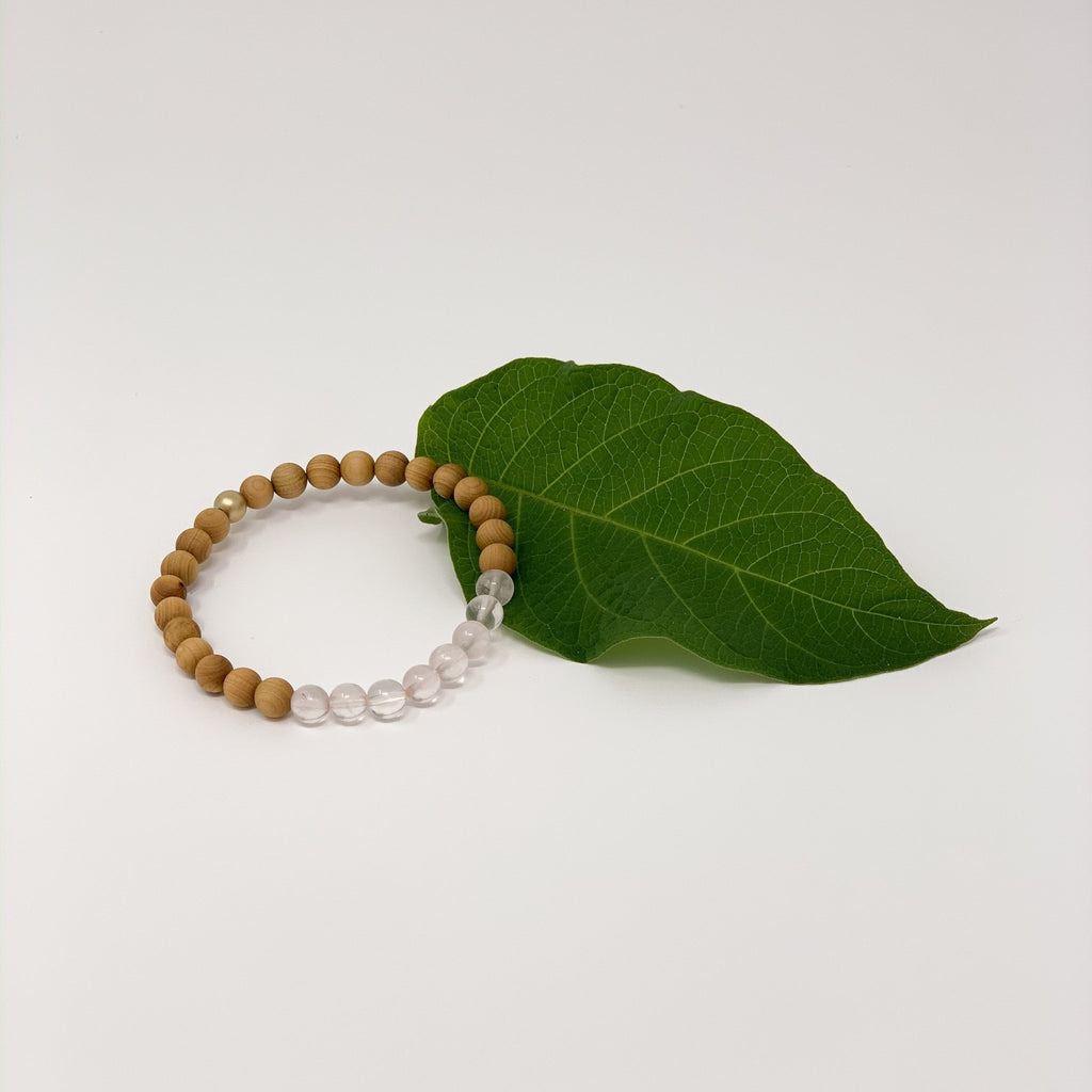 Rose Quartz Bracelet - Sage Moon