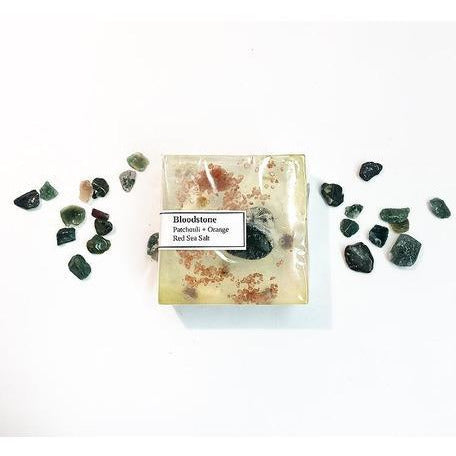 Bloodstone Crystal Soap - Sage Moon