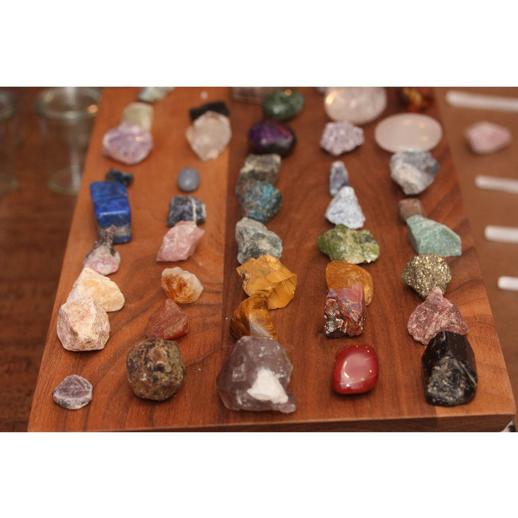 Raw Crystal Chakra Set (set of 7)