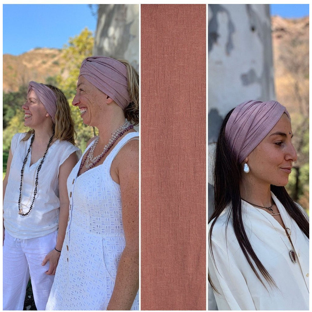 Stretch Turban - Sage Moon