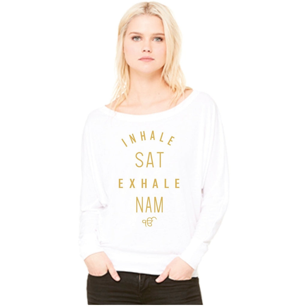 Inhale Sat Exhale Nam Poncho Top - Sage Moon