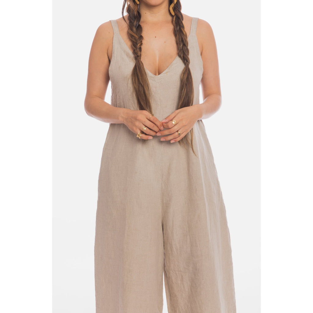 Kundalini Playsuit in Linen