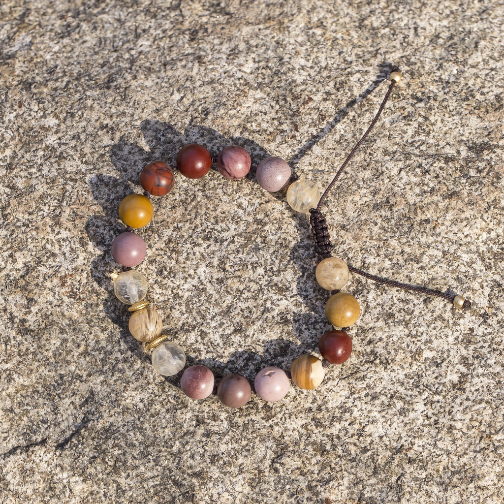 Jasper and Citrine Bracelet - Sage Moon