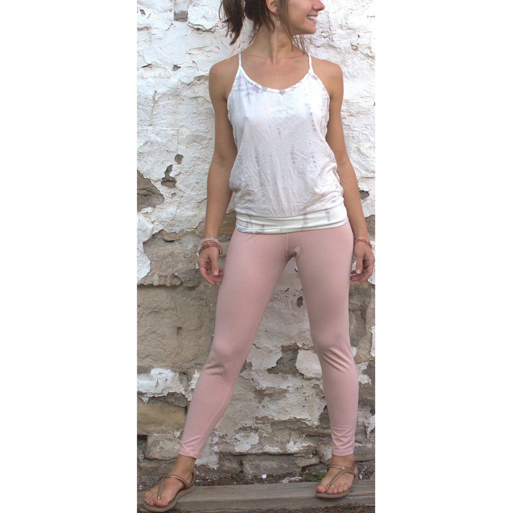 Ascension Leggings in Blush