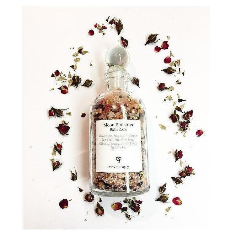 Moon Priestess Bath Soak - Sage Moon