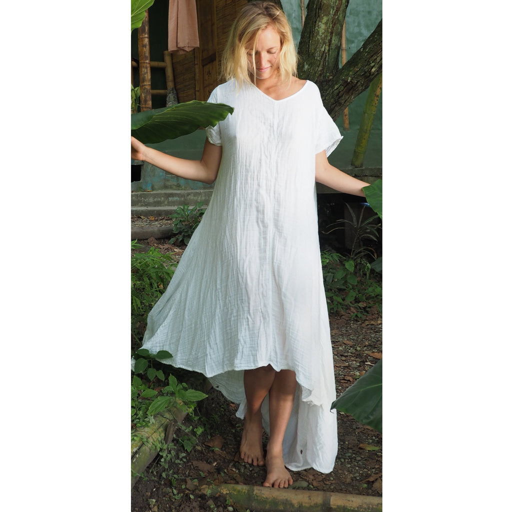 Soft Gauze Tee Dress