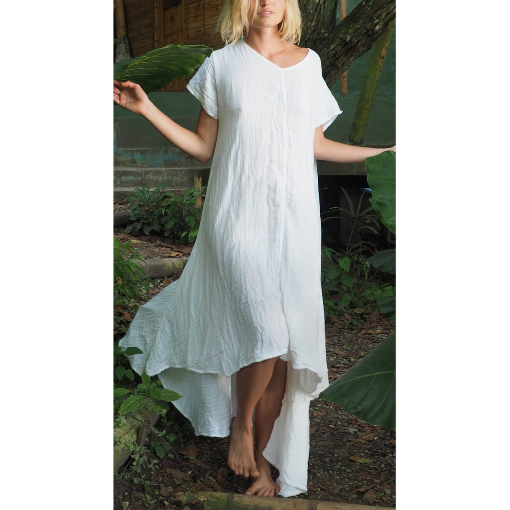 Soft Gauze Tee Dress (5 colors available) - Sage Moon
