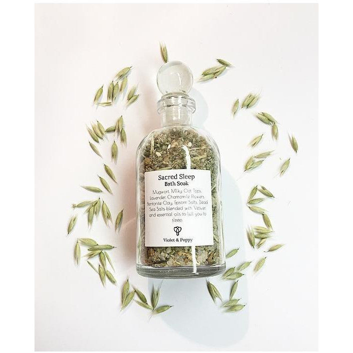 Sacred Sleep Bath Soak - Sage Moon