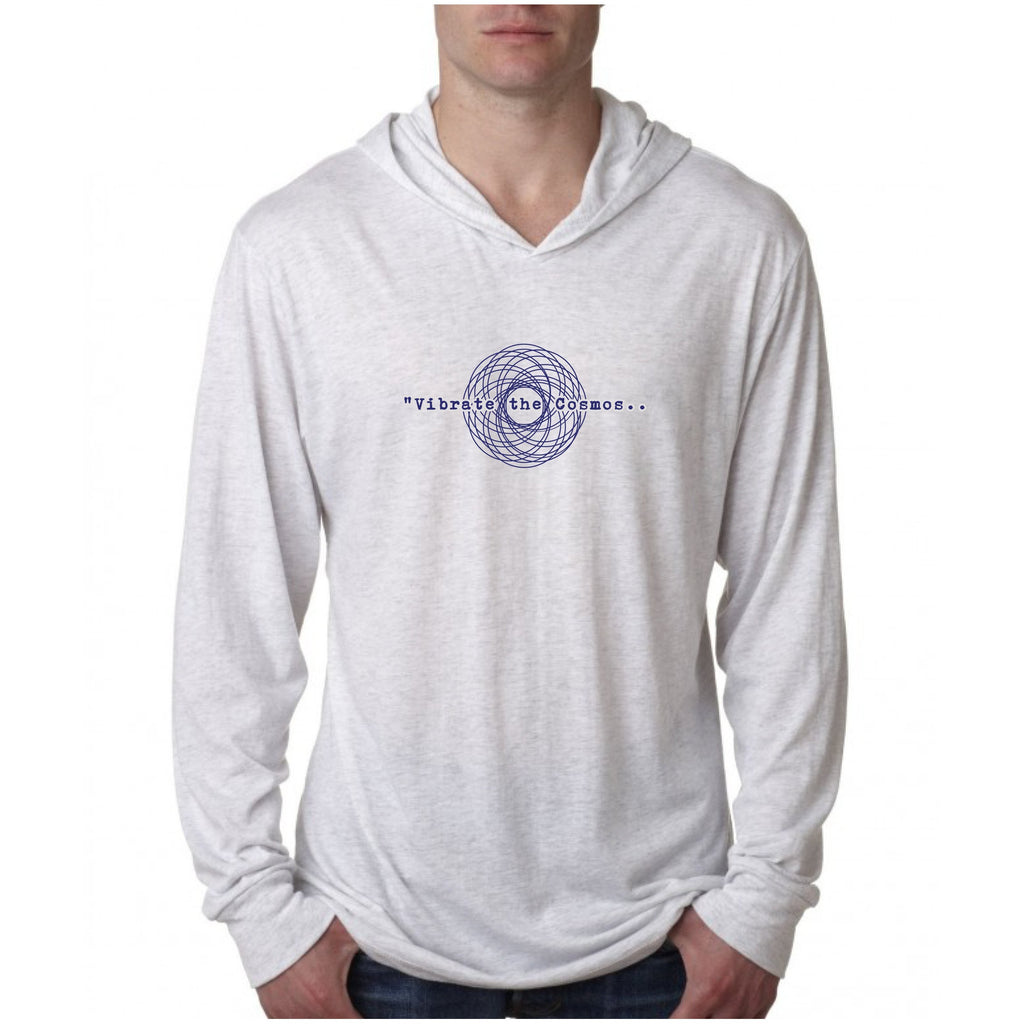 Vibrate the Cosmos Unisex Hooded Top Tops- Sage Moon