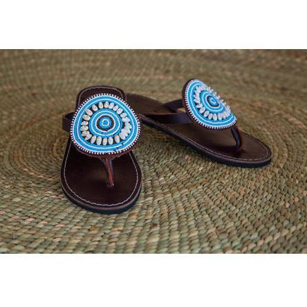 Turquoise Sandpiper Shoes- Sage Moon