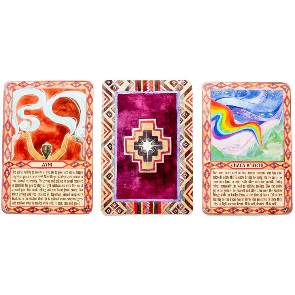 Andean Healing Energy Cards - Sage Moon