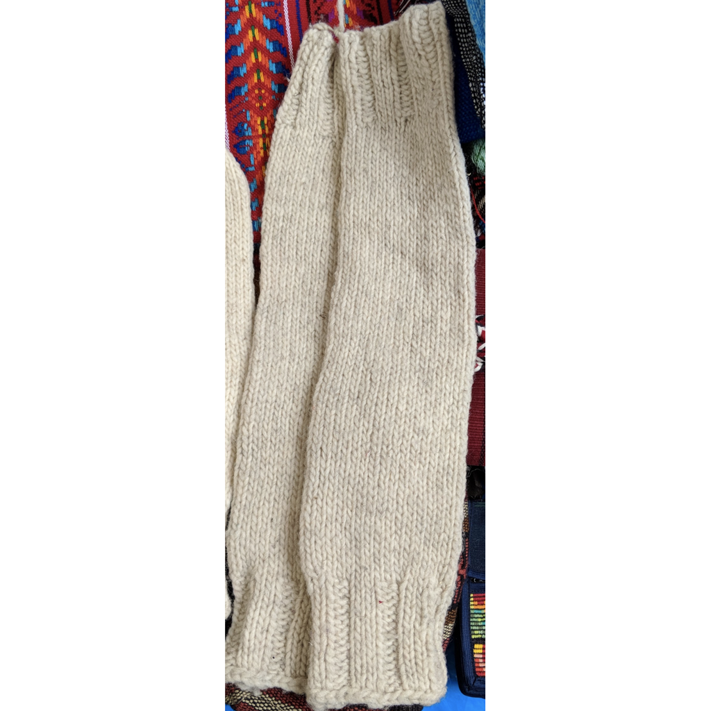 Wool Leg Warmers Pants- Sage Moon