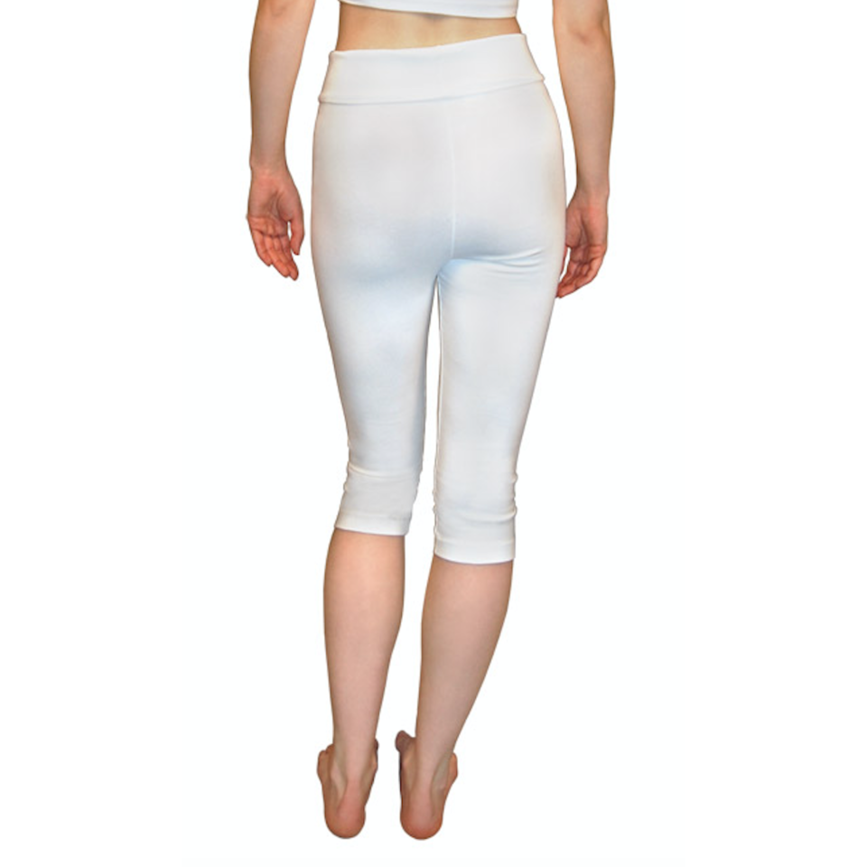 Capri Yoga Pants - Sage Moon