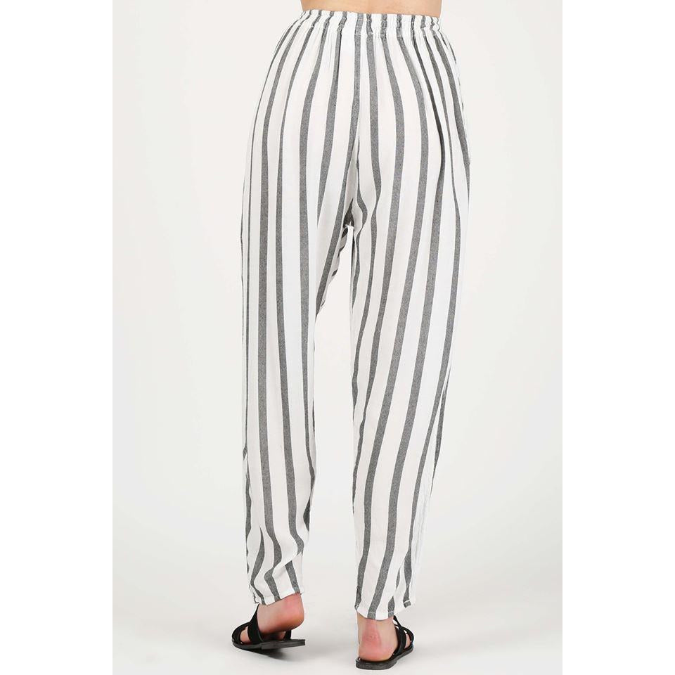 Tapered Pant Wide Striped