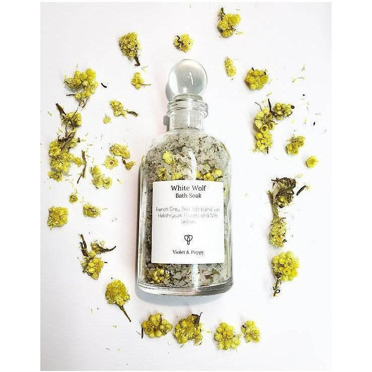 White Wolf Bath Soak - Sage Moon