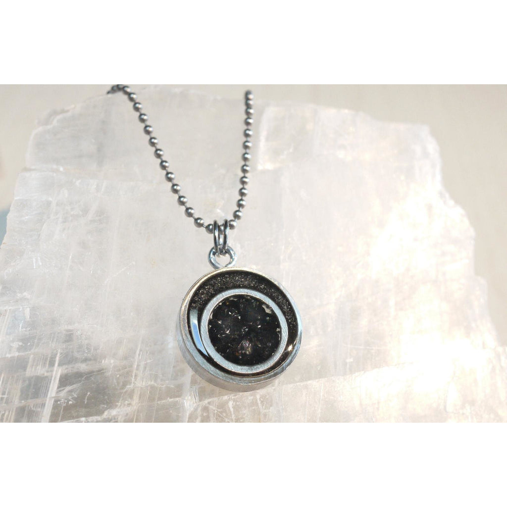 EMF & 5G Protection Halo Pendant (Stainless Steel) - Sage Moon