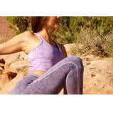 Amethyst Half Moon Crop Tops- Sage Moon