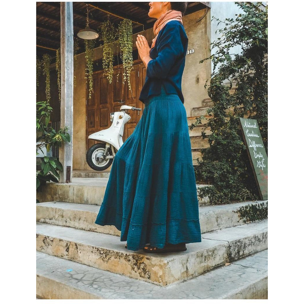 Sophia Skirt (available in 8 colors!) - Sage Moon