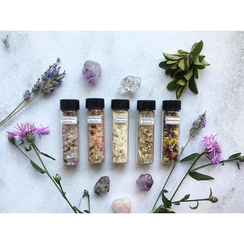 Bath Soak Sampler + Gift Set - Sage Moon