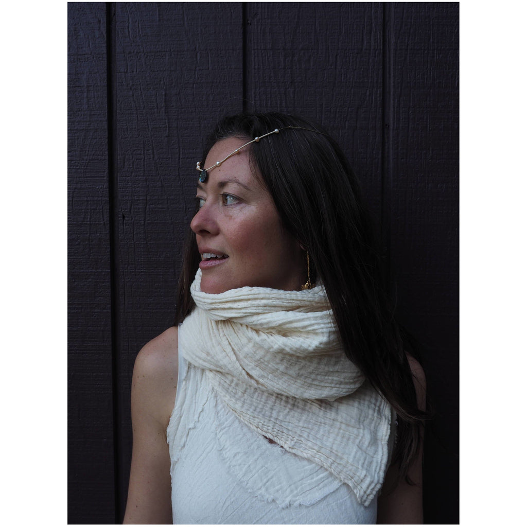 Gauze Cotton Turban/Scarf - Sage Moon
