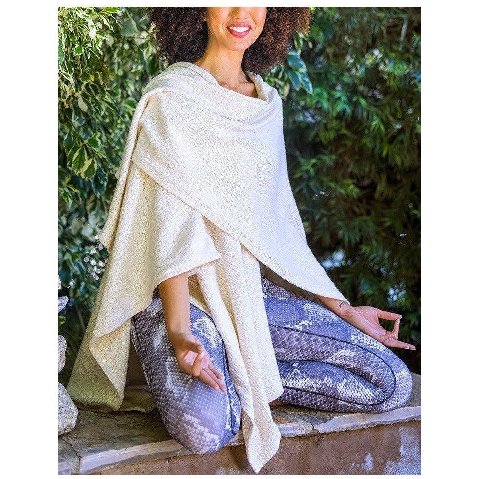Meditation Shawl Tops- Sage Moon