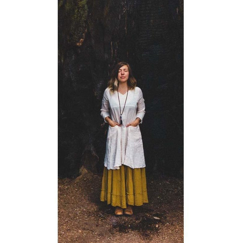 Pocket Tunic - Sage Moon