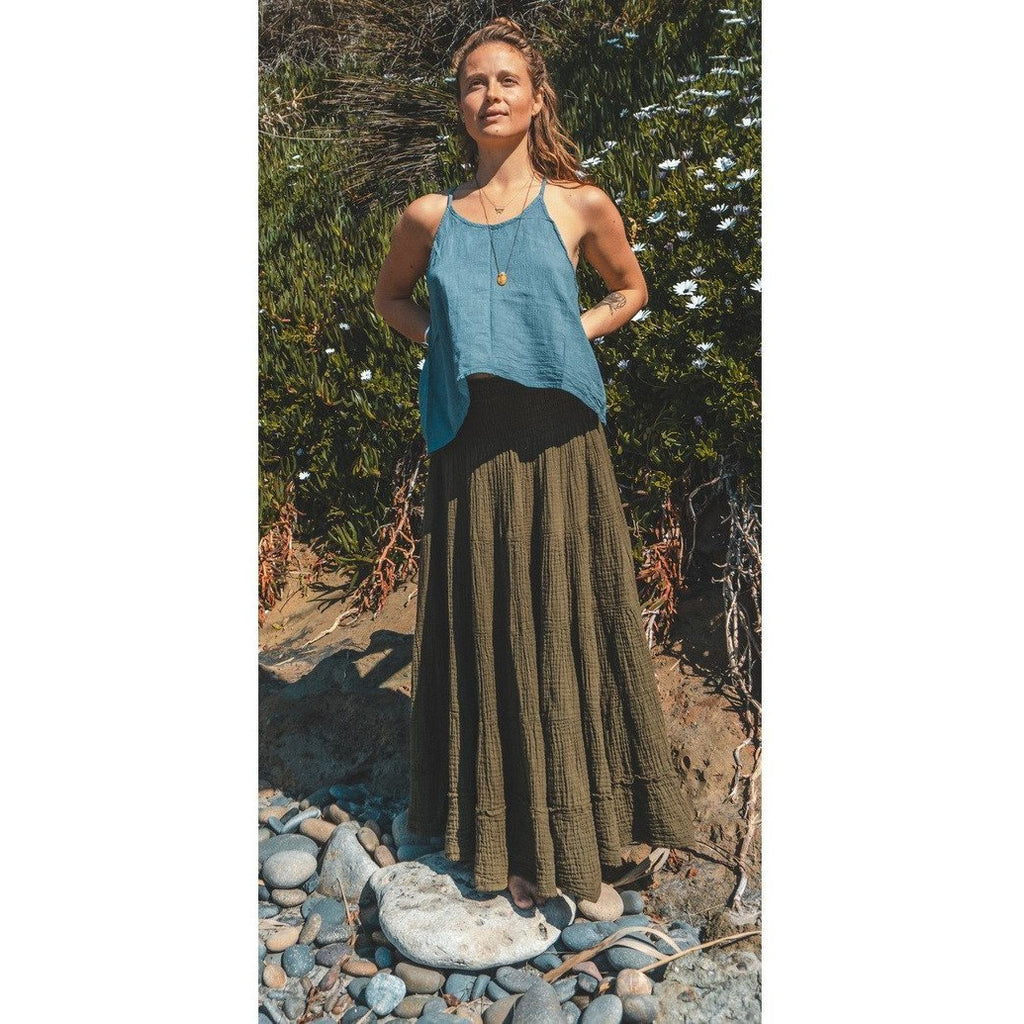 Gauze Cotton Cami (available in 8 colors) - Sage Moon
