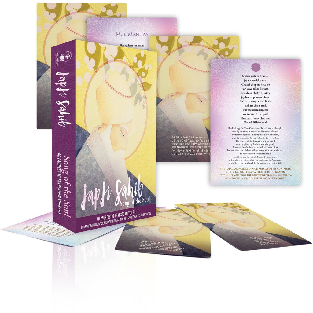 Japji Cards 40 Paurees to Transform Your Life - Sage Moon