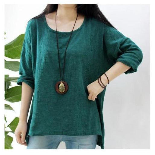Long Sleeve Flow Top - Sage Moon