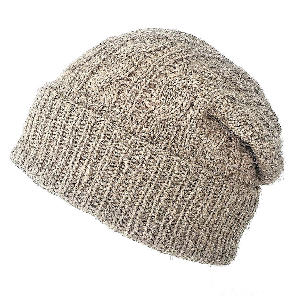 Cozy Cabin Knitted Cap - Sage Moon