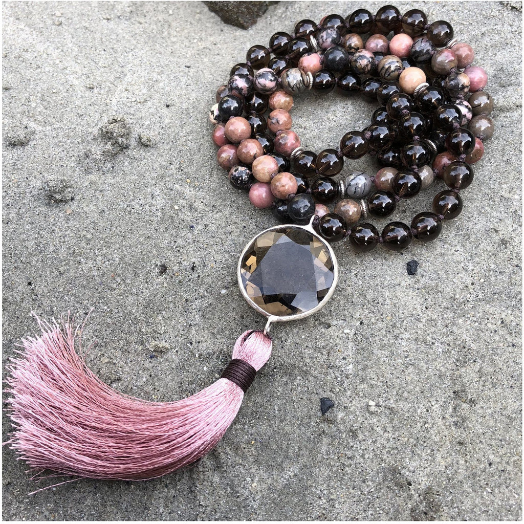I AM Protected Mala Malas- Sage Moon
