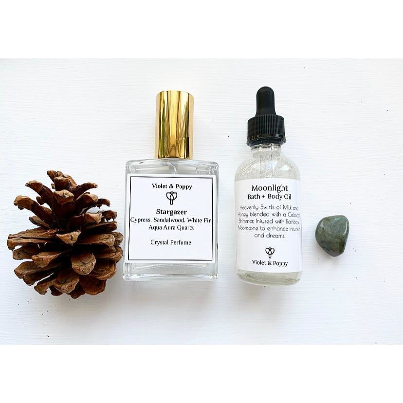 Moon Child Gift Set - Sage Moon