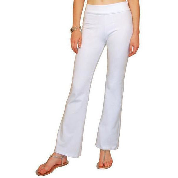 White Lotus Yoga Pants