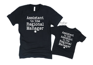 Assistant to the Regional Manager Shirt Set