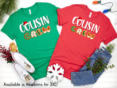 Cousin Crew Cookie Christmas Shirt Collection