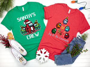 Among Us Christmas Shirt Collection