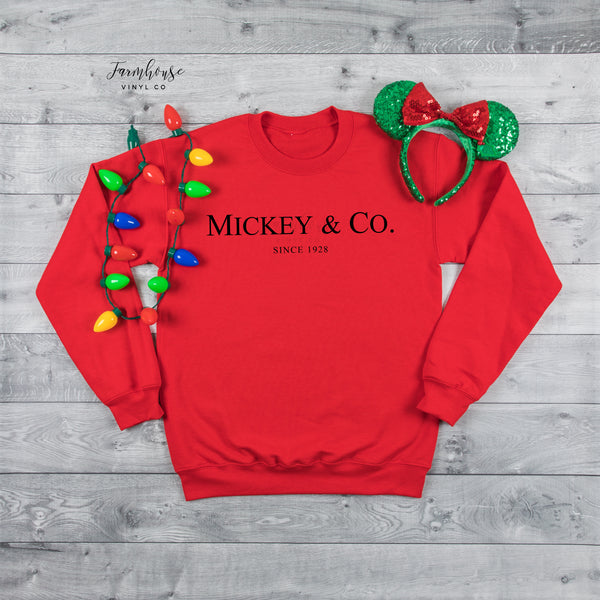 Mickey & Co. Est. 1928 Clothing Collection
