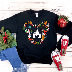 Disney Christmas Sweatshirt Collection